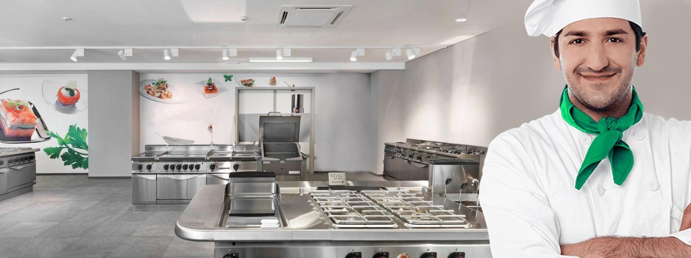 Sản xuất, lắp đặt hệ thống bếp công nghiệp