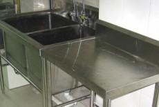 Hệ thống chậu rửa inox trường mẫu giáo Tuổi Hoa
