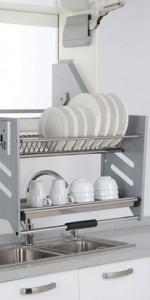 Thiết kế tủ bếp Inox gia đình