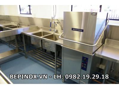Hệ thống máy rửa bát công nghiệp