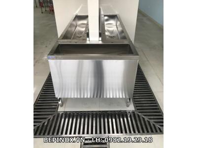 Bồn rửa tay Inox công nhân