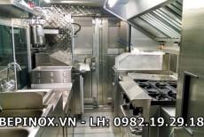 Lắp đặt thiết bị bếp công nghiệp cho quán ăn, quán nhậu