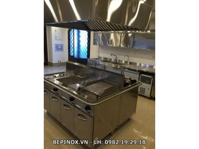 Hệ thống bếp đảo inox