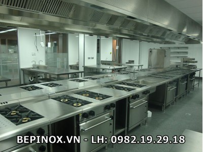Phòng thực hành bếp công nghiệp