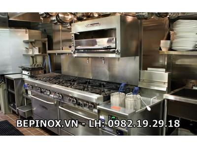 Gia công inox bếp nhà hàng