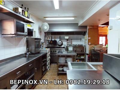 Inox bếp công nghiệp