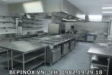 Lưu ý khi thi công bếp công nghiệp nhà máy