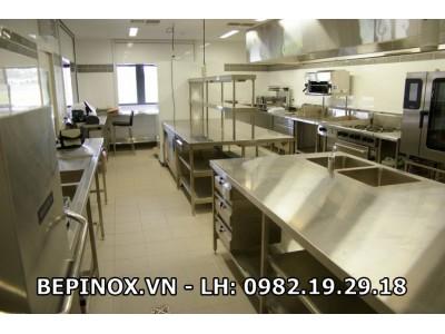 Tư vấn thiết kế bếp inox