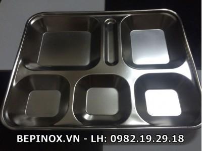 Khay ăn Inox 304
