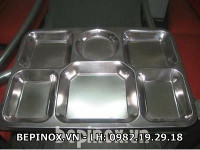 Khay ăn Inox
