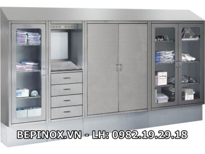Hệ thống tủ inox cao cấp