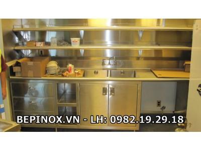 Sản xuất tủ bếp inox