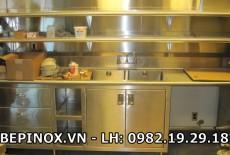 Những điểm hạn chế khi sử dụng tủ bếp inox