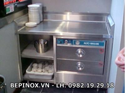 Tủ inox 2 ngăn kéo