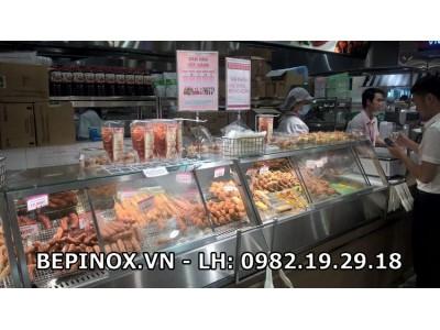 Cung cấp quầy giữ nóng thức ăn siêu thị