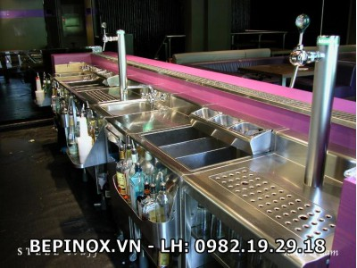 Quầy bar inox tổng hợp