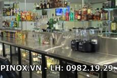 Báo giá quầy pha chế inox giá rẻ/hàng có sẵn
