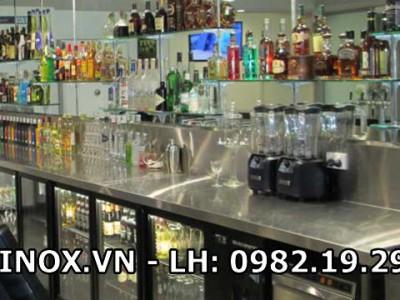 Tủ lạnh cánh kính quầy bar