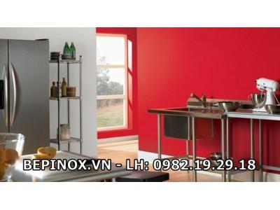 Bếp đẹp Inox
