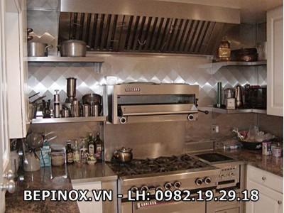 Bếp gia đình làm bằng Inox