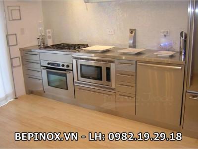 Quầy tủ bếp Inox