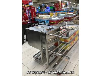 Xe phục vụ siêu thị BigC