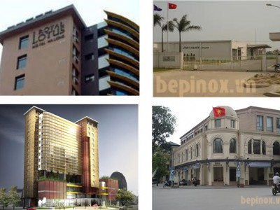 Một số công trình Thiên Tân thực hiện