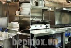 So sánh bếp công nghiệp nhà máy và nhà hàng