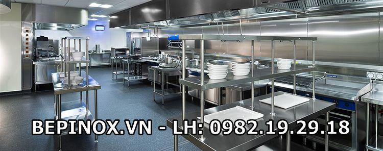 Khu bếp công nghiệp cho nhà hàng, khách sạn