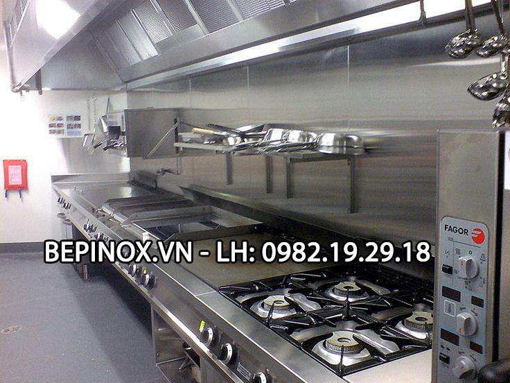 Hệ thống thiết bị bếp công nghiệp tại nhà hàng