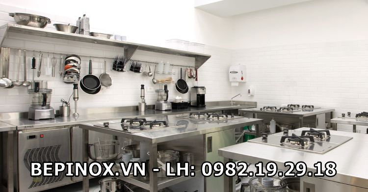 Các thiết bị bếp inox công nghiệp tại Thiên Tân