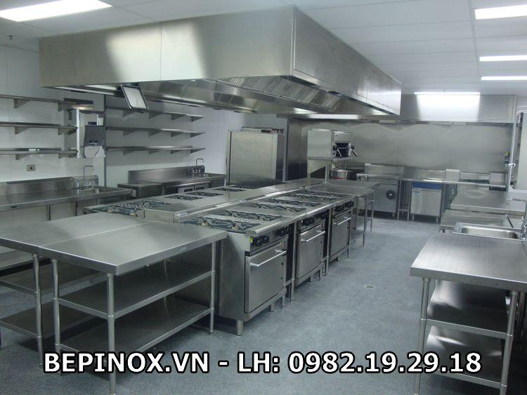 Mẫu thi công bếp công nghiệp nhà tại Thiên Tân