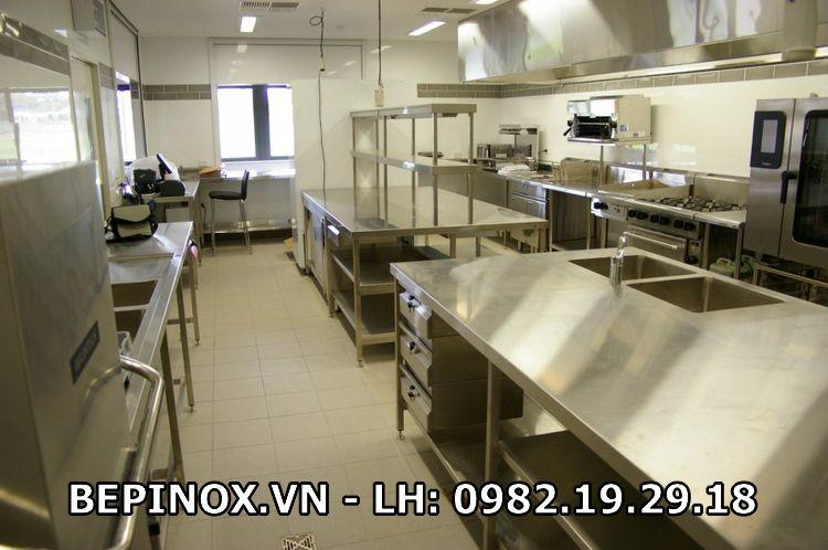 Thiết kế các thiết bị trong gian bếp công nghiệp