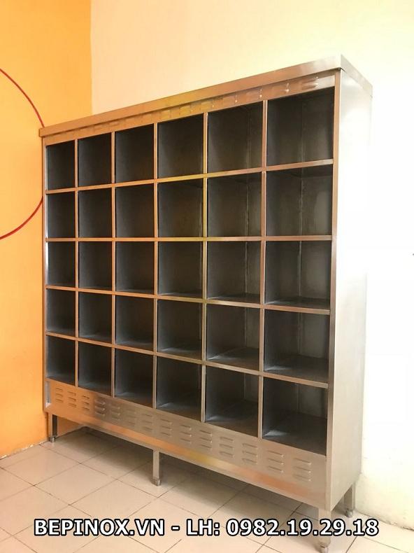 Quầy tủ bếp inox tại Thiên Tân