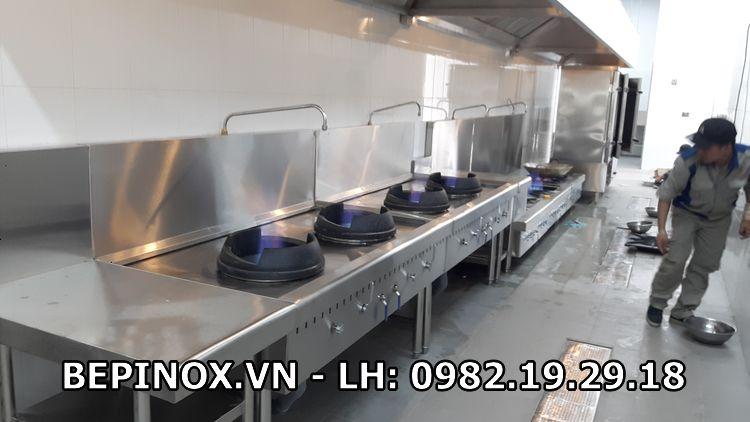 Bếp inox công nghiệp tại Thiên Tân