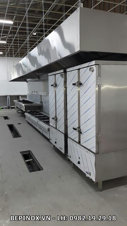 tủ cơm công nghiệp khu tập thể