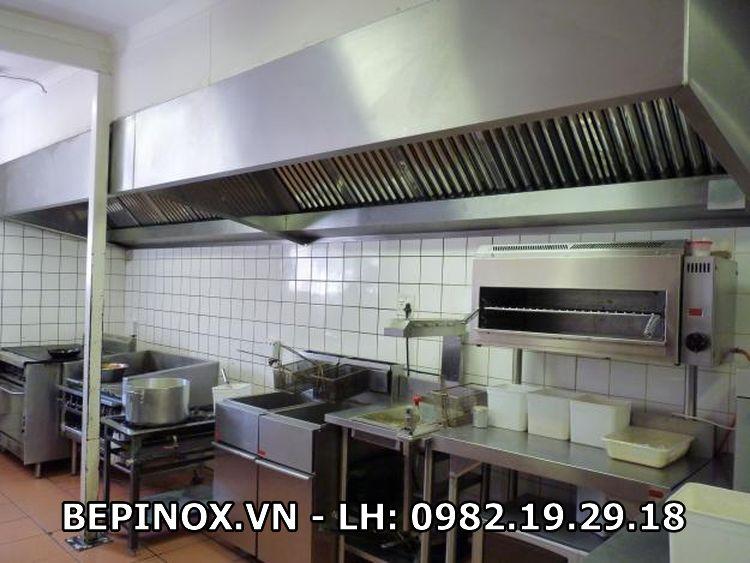 Hệ thống thông hút khói cho gian bếp Âu nhà hàng